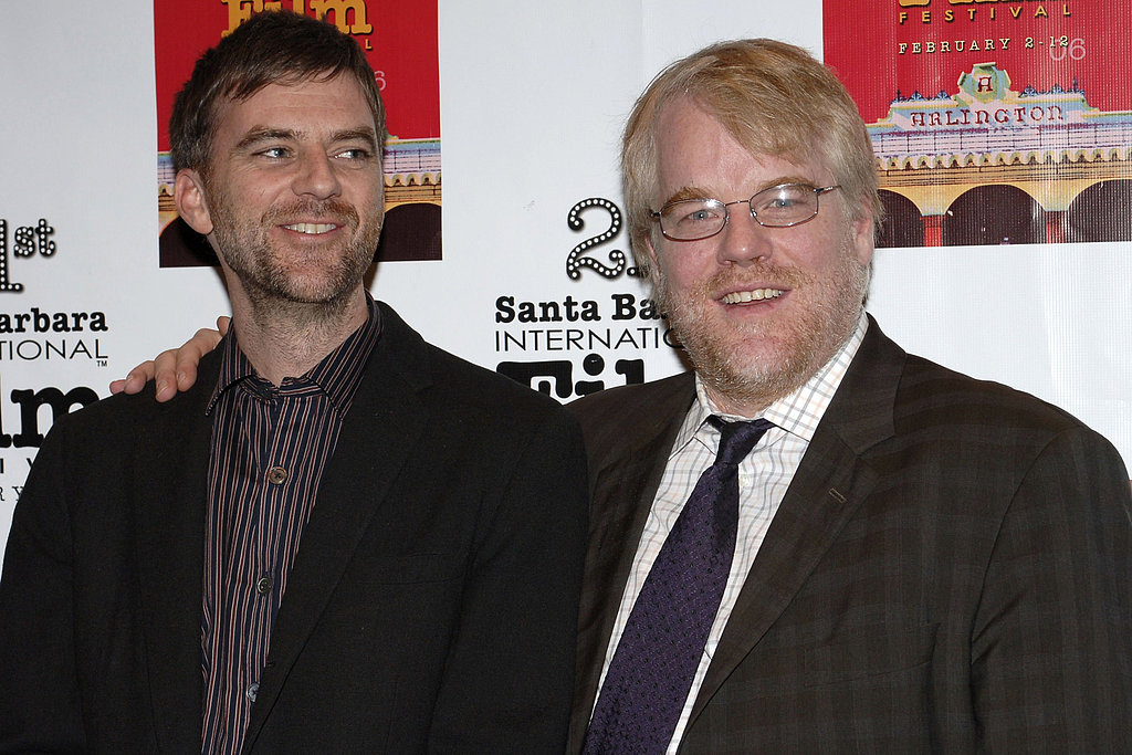 Paul Thomas Anderson and Philip Seymour Hoffman
