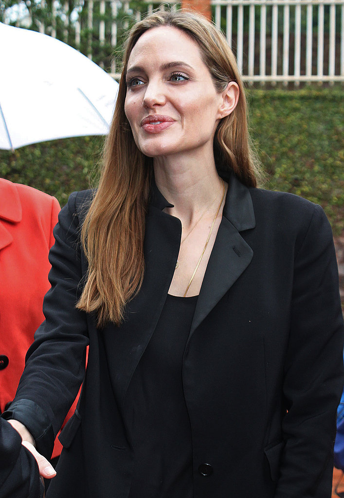 Angelina Jolie Visits With Victims of Sexual Violence in Africa