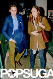 Eddie Redmayne and his girlfriend, Hannah Bagshawe, had a date night in London.