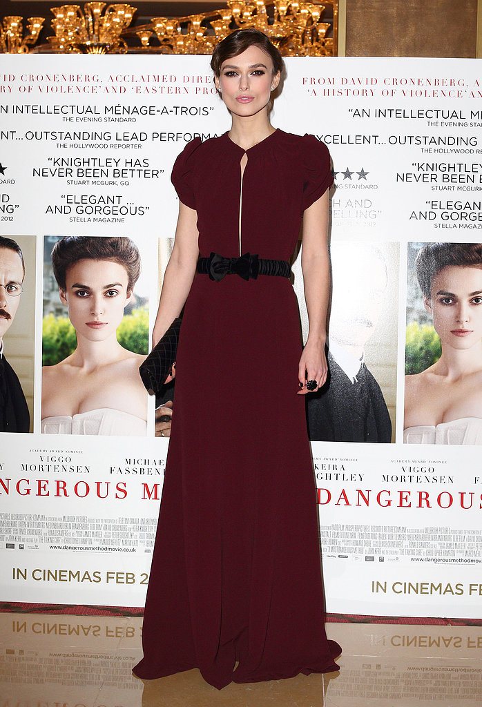 Keira Knightley at the Dangerous Method UK Premiere