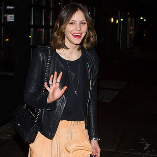 Katharine McPhee Wearing Leather Jacket | Pictures