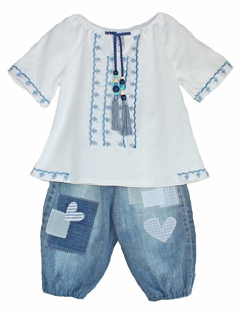 Hippie Blouse and Patchwork Pantaloons