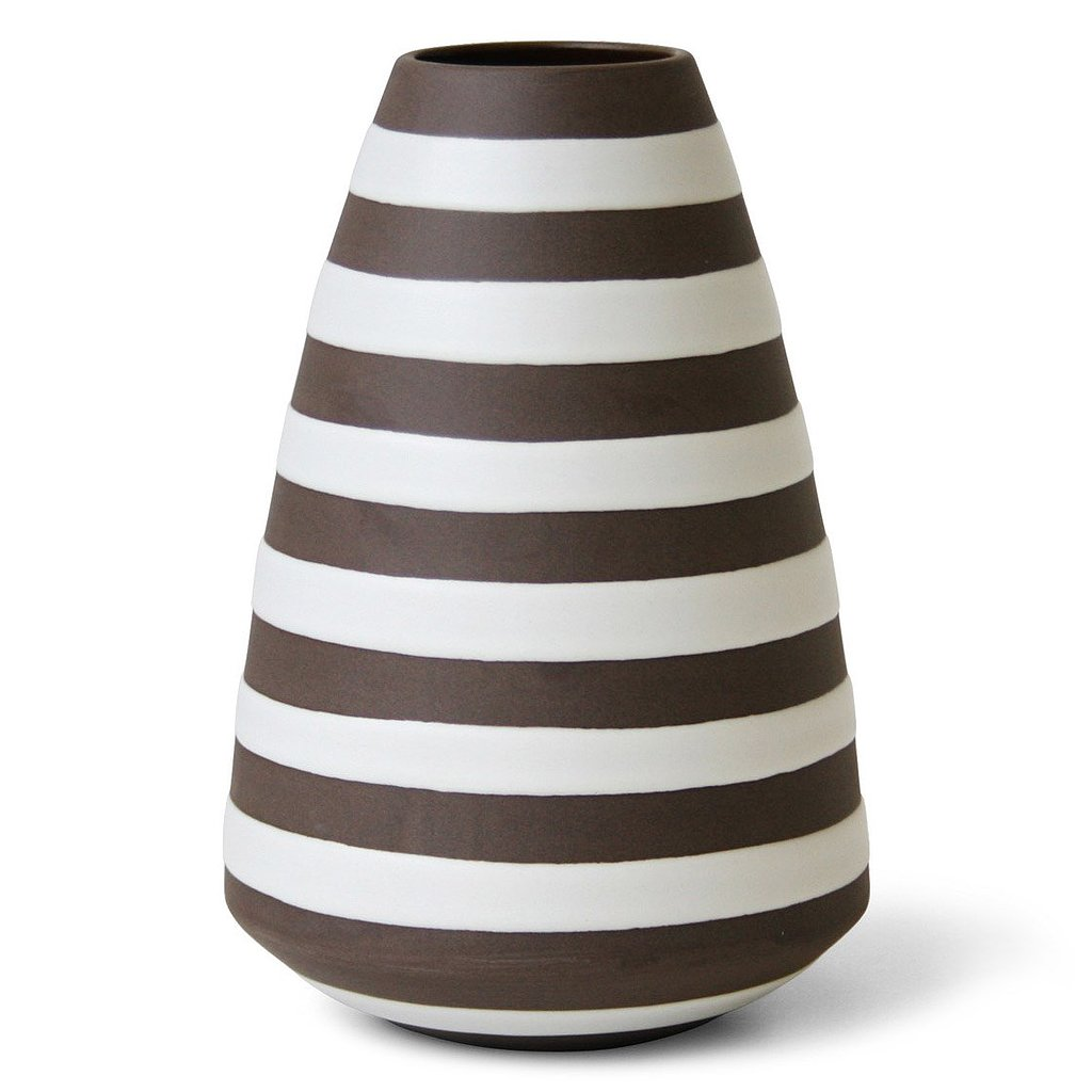 No matter what the style of your little one's nursery, you can fill this striped vase ($118) with bright blooms and set it on the dresser for a fresh touch.