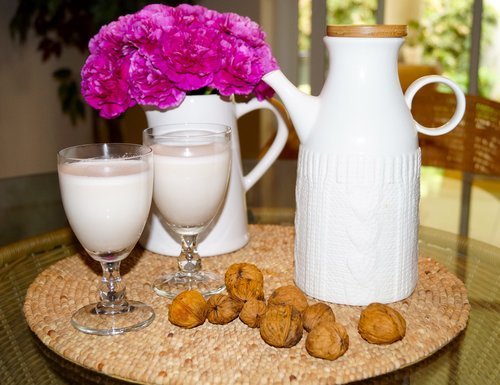 Almond-Walnut Nut Milk