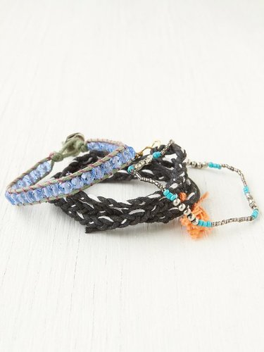Bead and Braid Wrap Bracelets