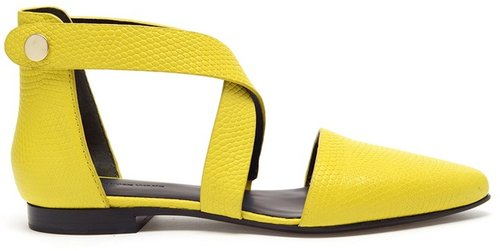 Alexander Wang 'Tabea' lizard embossed leather sandals