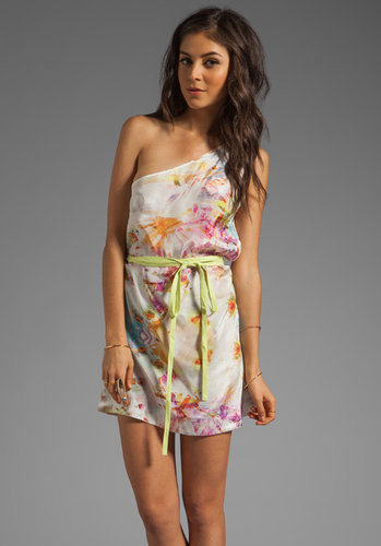 Suboo One Shoulder Mini Dress