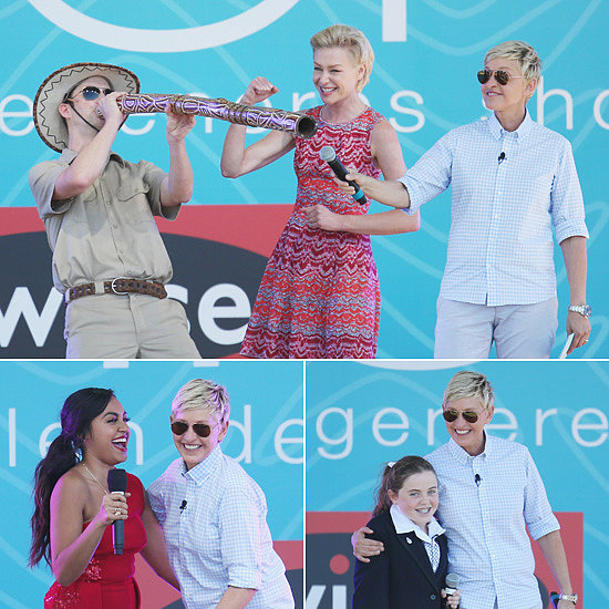 Ellen DeGeneres Says Melbourne Is Better Than Sydney at Second Australian Show