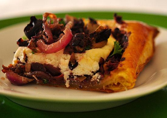 Olive Tapenade Tart