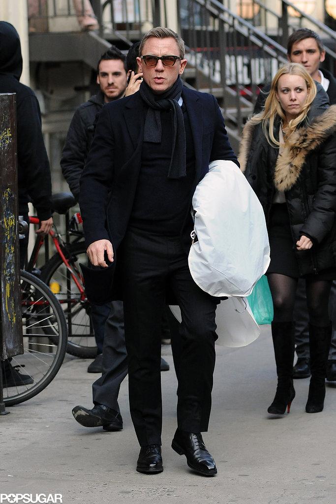 Daniel Craig Puts His Driving Skills to the Test