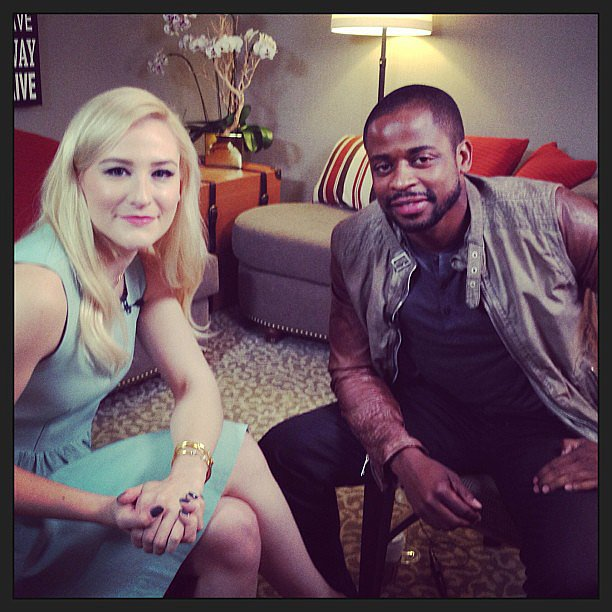 Psych's Dulé Hill chatted with us ahead of his show's 100th episode.  Source: Instagram user POPSUGAR