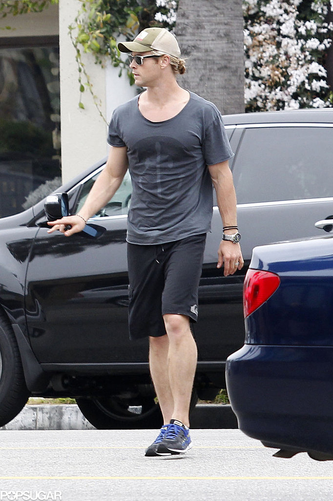 Chris Hemsworth Steps Out in LA as His Big Brother Lands a Role