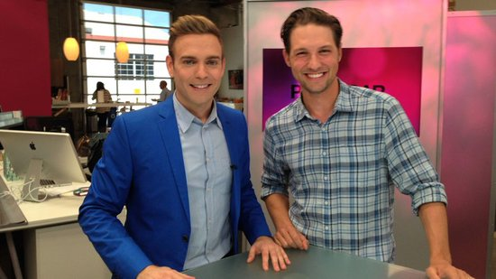 Video: Michael Cassidy Talks With Us About an O.C. Reunion on the TBS Show Men at Work!
