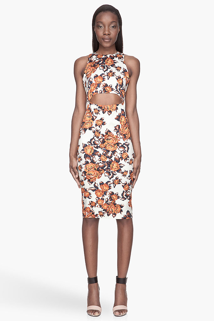 Cocktail dressing, the way Kate Bosworth or Zoe Saldana might do it. That's how I think of this Suno floral-print stretch-silk dress ($695), and I'll hope to channel a little of those style setters' brand of chic whenever I wear it. — Hannah Weil