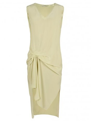 I have another round of weddings to attend this month, and I think AllSaints' Jodelle dress ($248) plays to my lighter mood. Not to mention, the mellow yellow hue isn't too casual — just add a statement necklace and kitten heels, and I'm good to go. — Marisa Tom