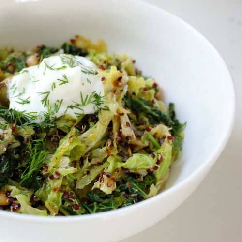 Martha Stewart's Toasted Quinoa and Cabbage Recipe | POPSUGAR Fitness ...