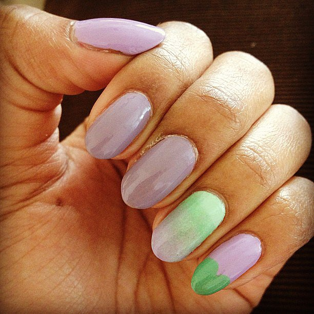 This pastel manicure is perfect for Spring. Source: Instagram user talisakamilla