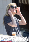Kirsten Dunst Trades Brad Pitt Talk For a Coffee Stop