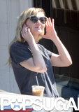 Kirsten Dunst Trades Brad Pitt Talk For a Coffee Stop