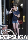 Kirsten Dunst grabbed coffee in LA.