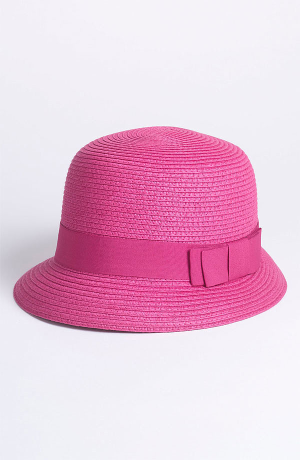 Inject feminine flair into your Spring separates with this punchy Nordstrom cloche ($28).