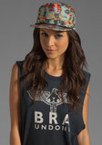 Coachella, anyone? Rock out in this graphic Brixton ball cap ($26) that's one part cool girl, one part tomboy.