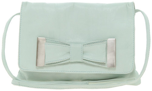ASOS Leather Bow Across Body Bag