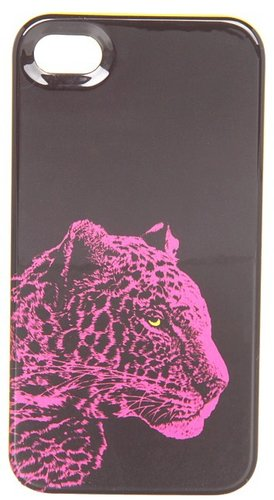 Juicy Couture - Snow Leopard Phone Case (Pink Cerise) - Bags and Luggage