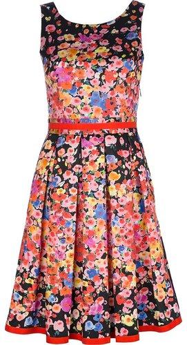 Blugirl sleeveless floral print dress