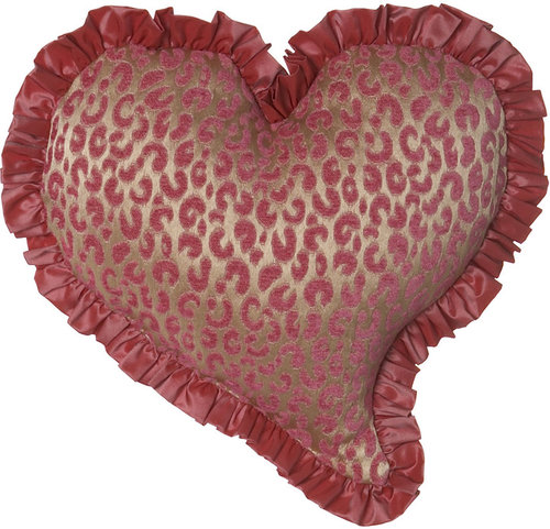 "Sweet Dreams Heart-Shaped Pillow, 13"" x 13"""