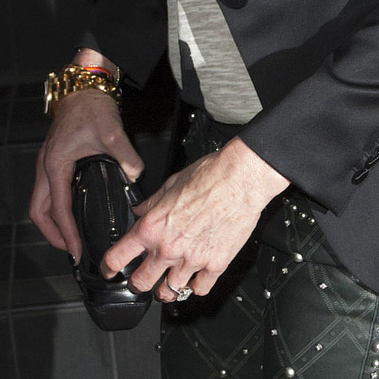 Can you Guess the Supermodel from Her Huge Engagement Ring?