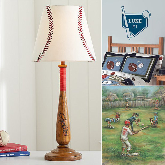 Batter Up! Baseball-Themed Decor For Little Sluggers