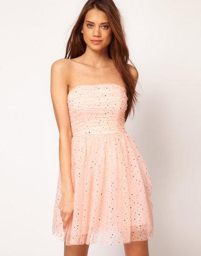 ASOS Party Dress in Sequin Mesh