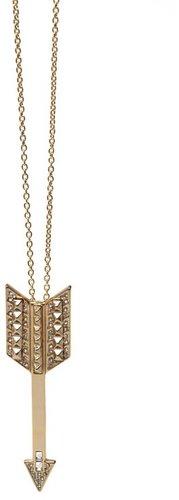 House of Harlow 1960 Jewelry Arrow Drop Necklace