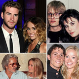 Barely Legal: Celebrities Who Got Married as Teenagers Miley Cyrus is engaged to Liam Hemsworth! The 19-year-old singer and actress has been with the 22-year-old Australian Hunger Games h