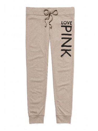 PINK Lightweight Banded-bottom Pant