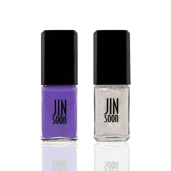 Celebrity manicurist Jin Soon Choi partnered with Space NK to bring two exclusive shades to the beauty retailer: Voile ($18), a bright violet, and Gossamer ($18), a purple-pink shimmer top coat. Wear them together or separate for a range of gorgeous looks.