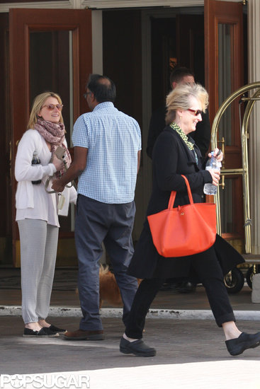 Meryl Streep Sticks By Her Daughter Mamie During Divorce