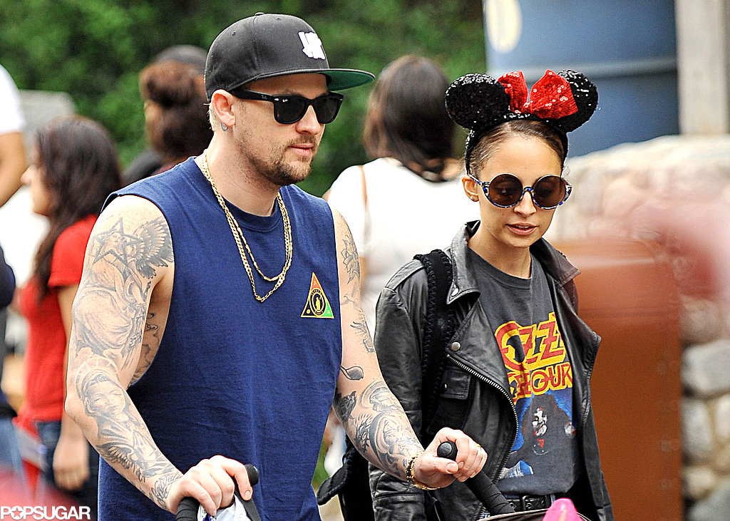 Nicole and Joel Take Their Little Prince and Princess to Disneyland