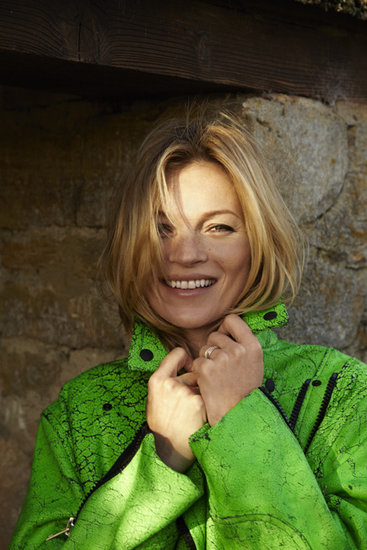 Kate Moss Models for Rag & Bone