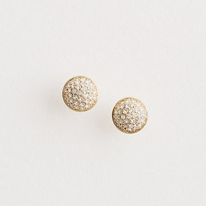 Factory fireball stud earrings