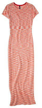 labworks Petites Short-Sleeve Sweater Maxi Dress - Pink