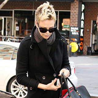 Charlize Theron Heading to Her NYC Hotel | Pictures