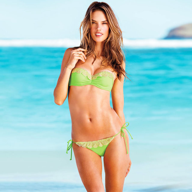 The Victoria's Secret Summer of Sexy Swim Campaign is Smokin
