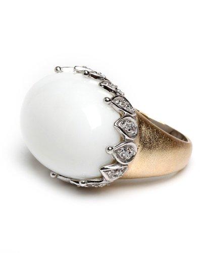 Embellished Tusk Ring