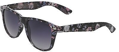 Floral retro sunglasses