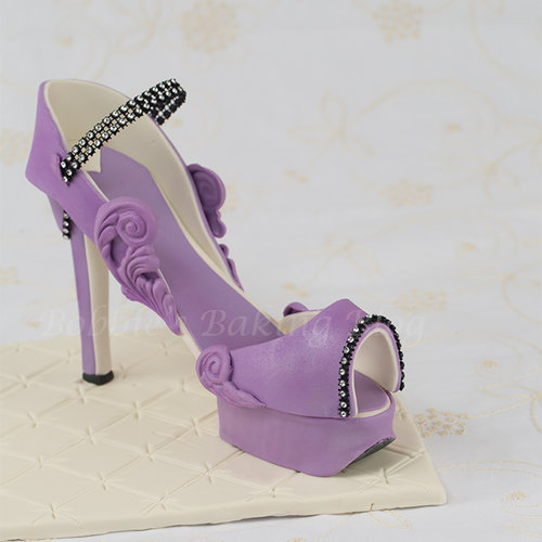 Purple Passion Platform High Heel Tutorial