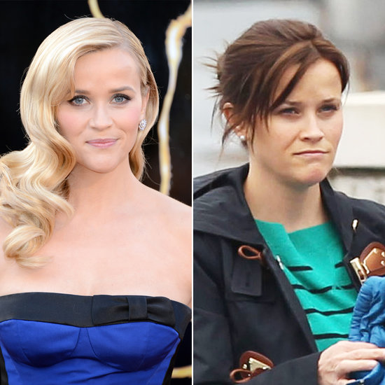 Reese Witherspoon blonde and brunette.