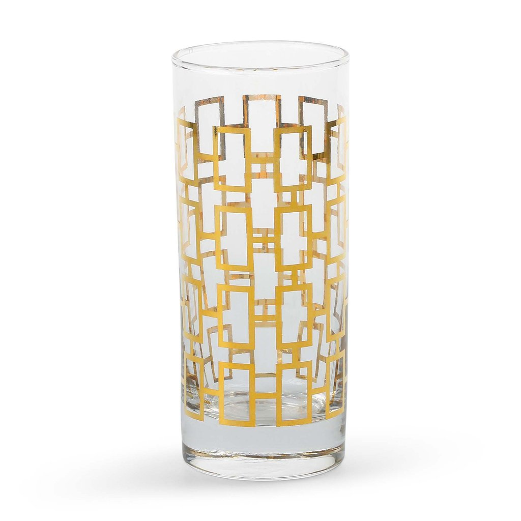 Gilded Highball Glasses