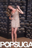 Gisele Bündchen struck a cute pose to promote Pantene Expert in Sao Paulo, Brazil.